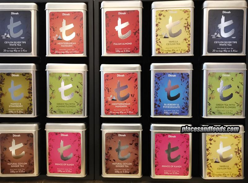 dilmah tea variety