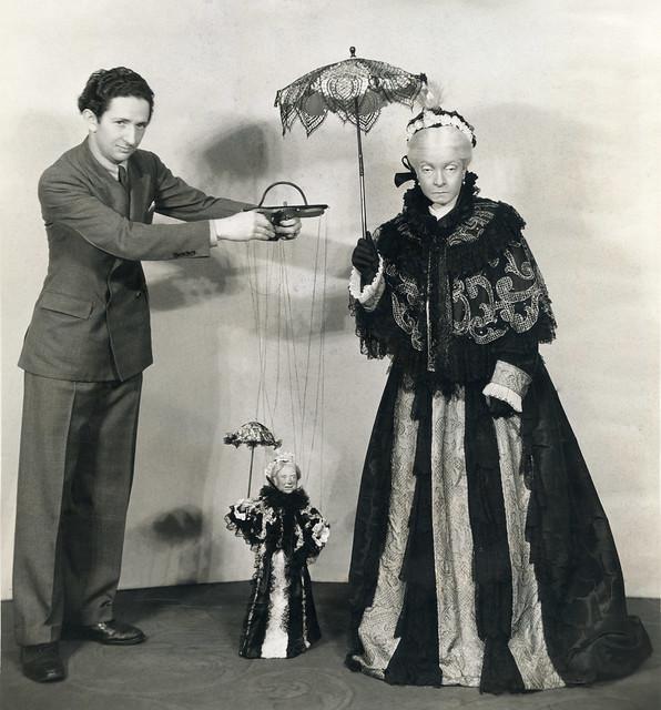 Harry Burnett and Helen Hayes
