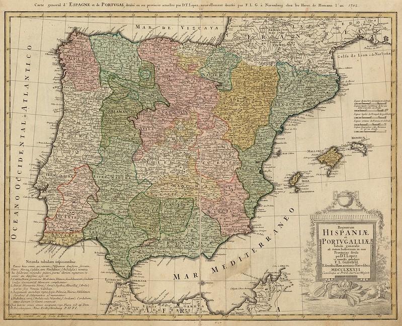 Tomás López de Vargas Machuca - Hispania (1782)