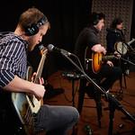 Thu, 13/12/2018 - 12:45pm - Mumford & Sons Live in Studio A, 12.13.18 Photographer: Gus Philippas