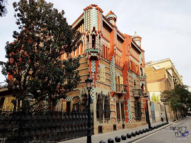 Casa Vicens primera casa modernista diseñada por Gaudi (1)