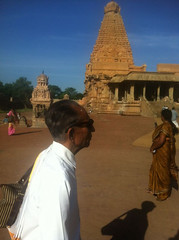 Darshan and Meditation at Brihadeeshwara Temple, Thanjavur, 22-09-2013