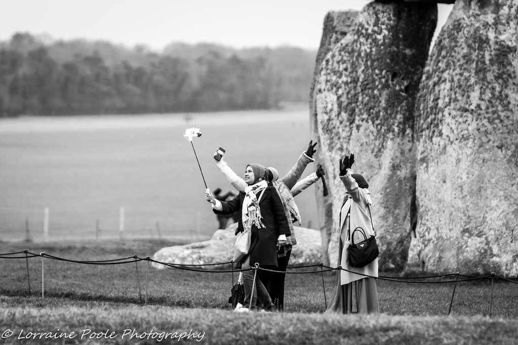 Selfie Time at Stonehenge