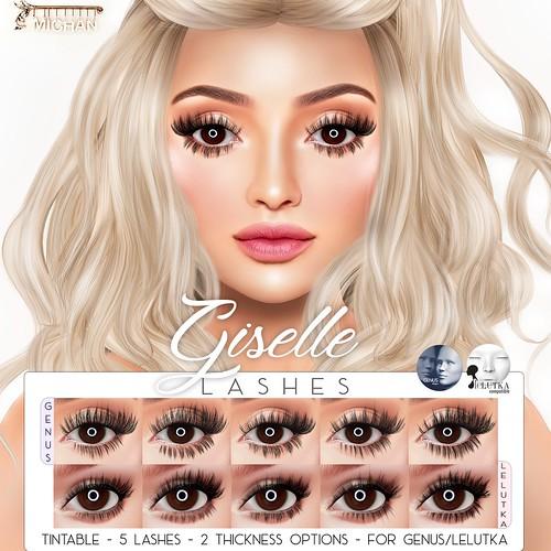 Giselle Lashes @ Salon52