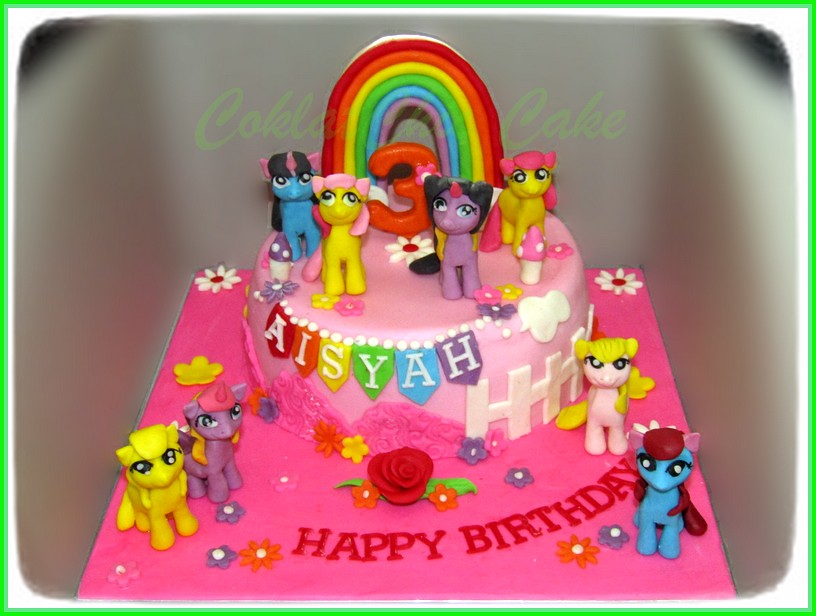 Cake My Little Pony AISYAH 18 cm