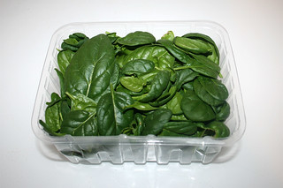 04 - Zutat Blattspinat / Ingredient leaf spinach