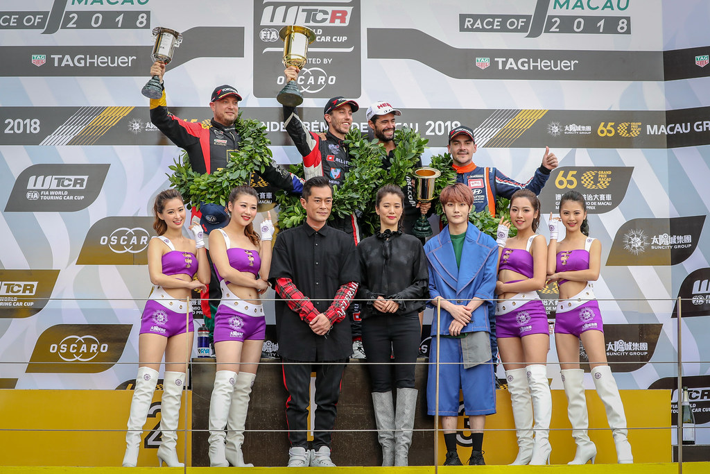 during the 2018 FIA WTCR World Touring Car cup of Macau, Circuito da Guia, from november  15 to 18 - Photo Alexandre Guillaumot / DPPI