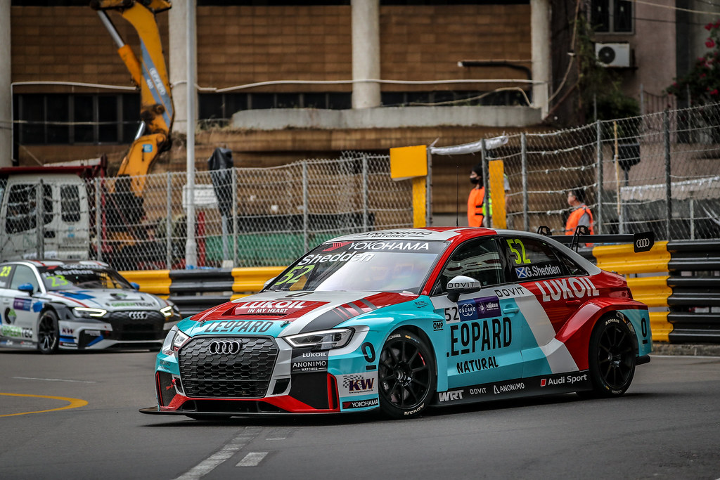 52 SHEDDEN Gordon, (gbr), Audi RS3 LMS TCR team Audi Sport Leopard Lukoil, action during the 2018 FIA WTCR World Touring Car cup of Macau, Circuito da Guia, from november  15 to 18 - Photo Alexandre Guillaumot / DPPI