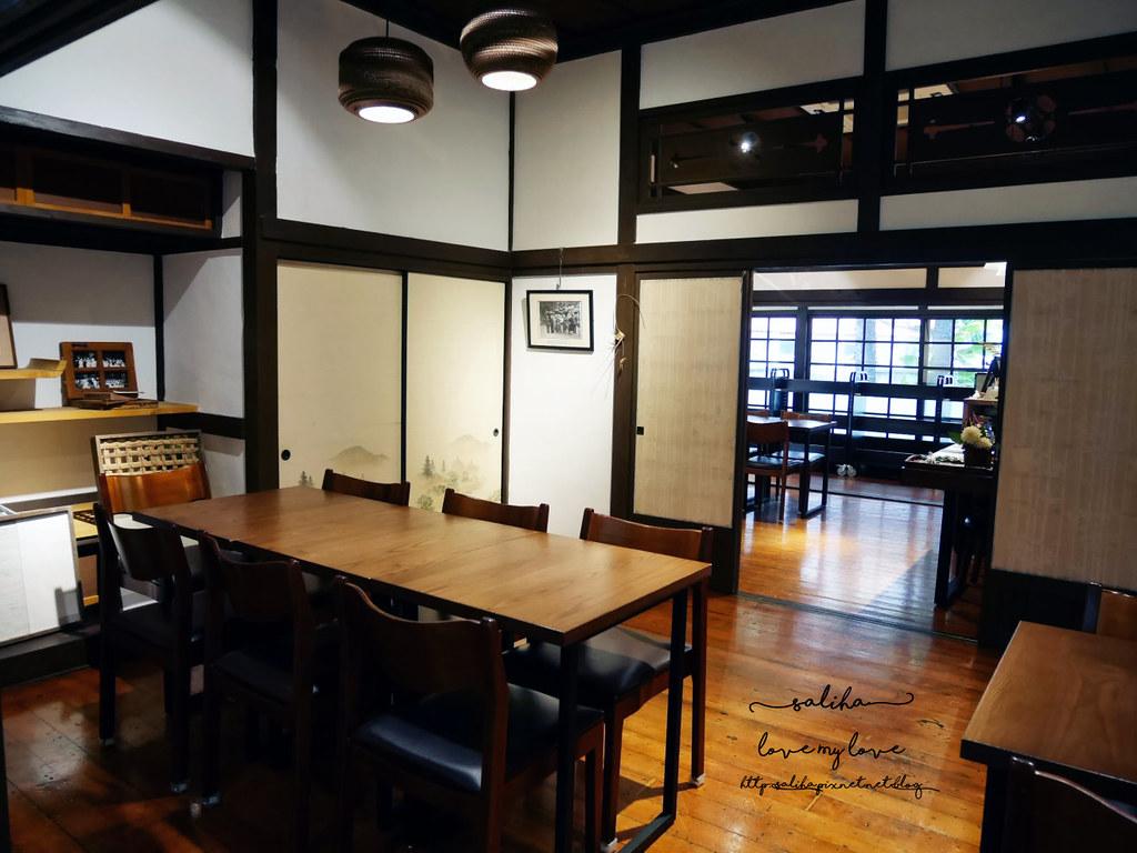台北古亭站附近不限時日式咖啡廳下午茶推薦雅鴿書院 (6)