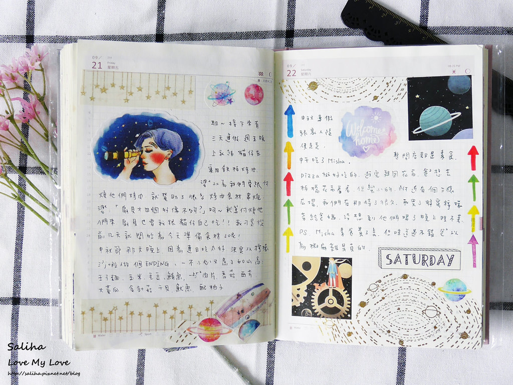 手帳日記裝飾分享紙膠帶設計水彩遊記 (23)