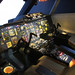 Concorde Flight Deck, British Airways, Aerospace Bristol, Filton, Gloucestershire
