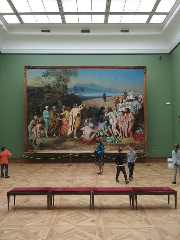 Москва - Третьяковская галерея - Явление Христа народу