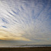 Cirrocumulus Clouds over Ocean Beach, SF, CA