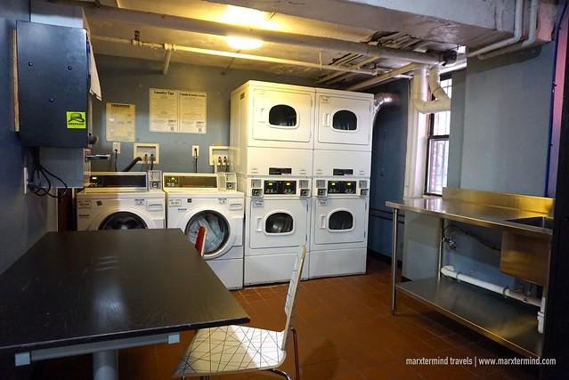 HI Washington DC Hostel Laundry Area