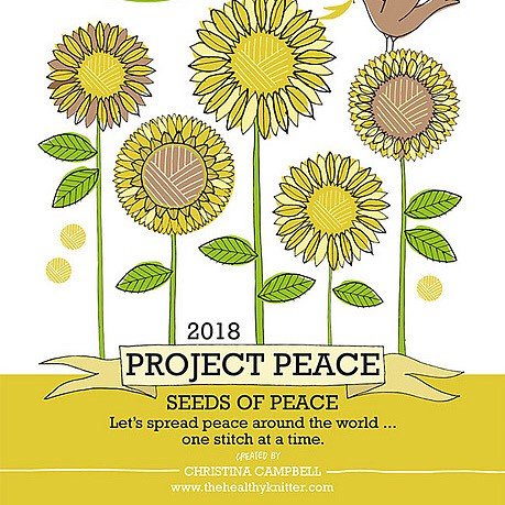 We will be hosting Project Peace 2018 on Friday, December 21 from 4 until 10pm! This is the day the Healthy Knitter holds World-wide-knit-in-for-peace, the day of solstice.