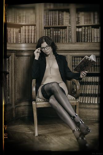 Le charme des bibliothèques d'antan...