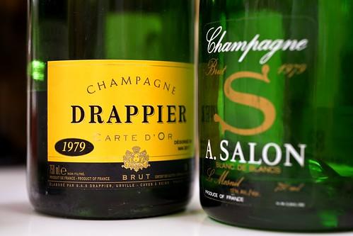 Drappier 1979 et Salon 1979