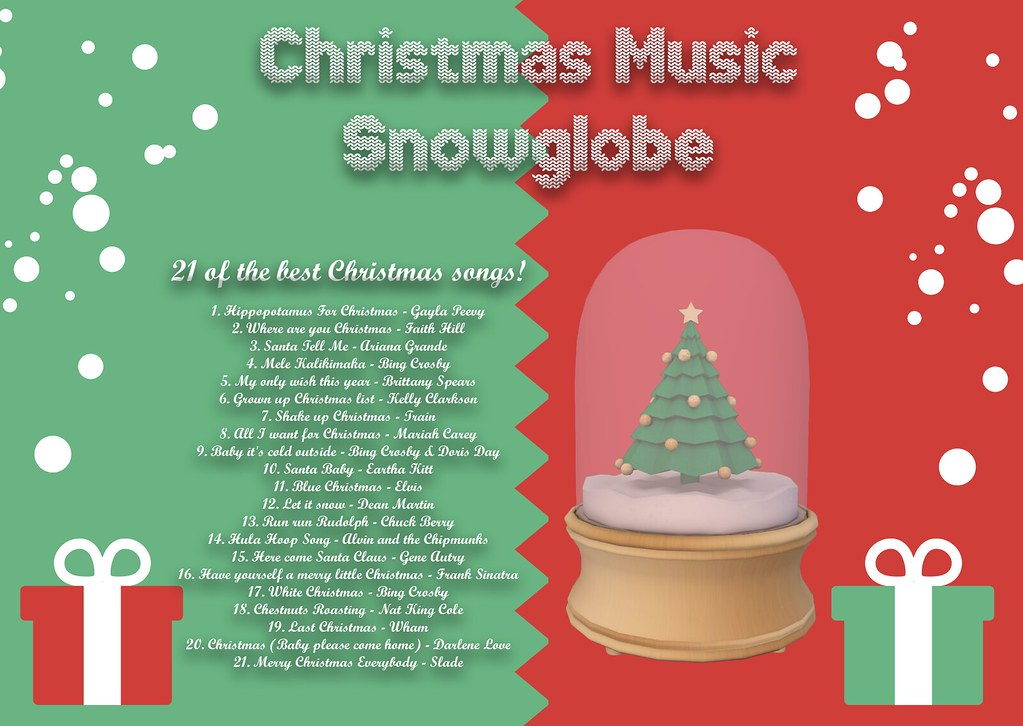 Christmas Music Snowglobe