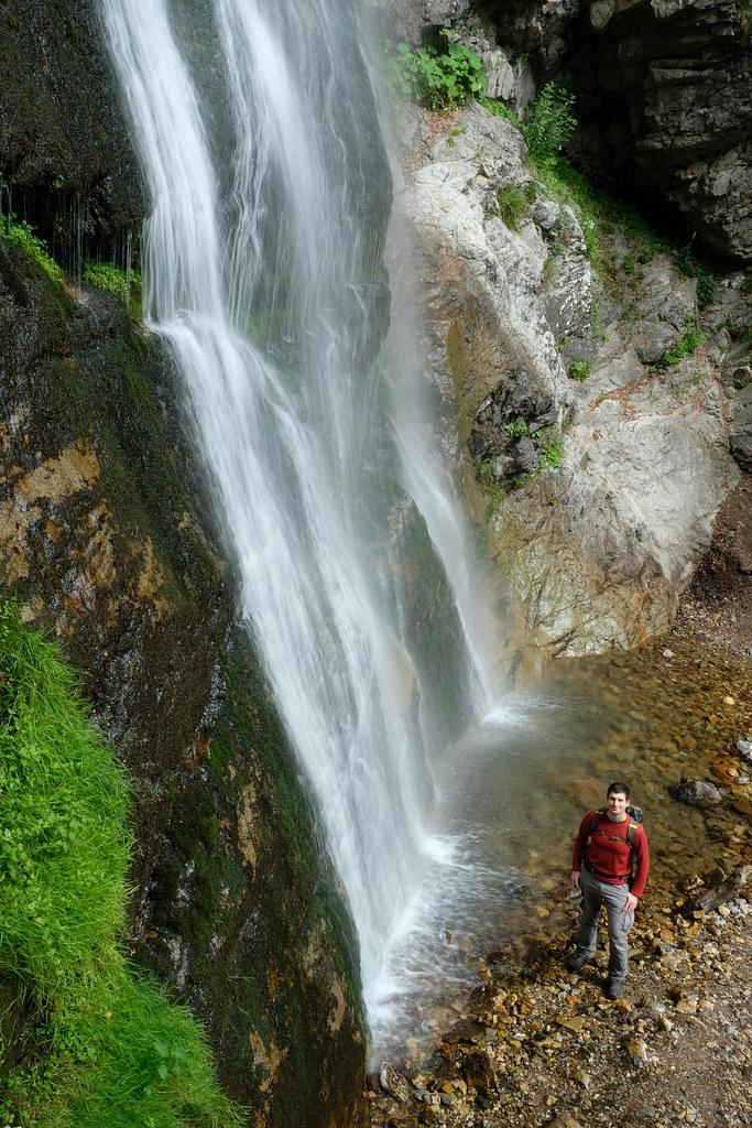 Šútovo Waterfall, Little Fatra, Slovakia