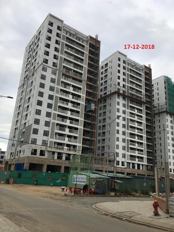 Tiến độ osimi tower 18/12/2018