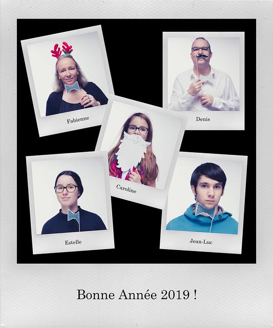 Happy New Year -Frohes Neues Jahr - Bonne Année - Feliz Año