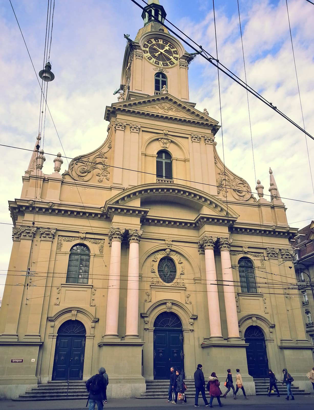 16-01-30 (Bern) Church of the Holy Ghost.