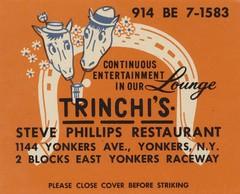 Trinchi's Steve Phillips Restaurant - Yonkers, New York