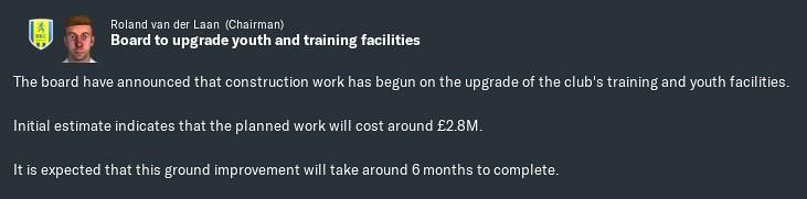 2020 training upgrade