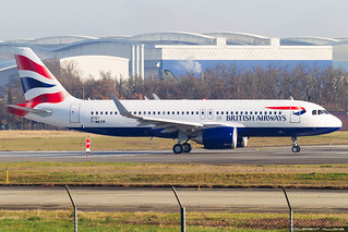 British Airways Airbus A320-251N cn 8767 F-WWDM // G-TTNI