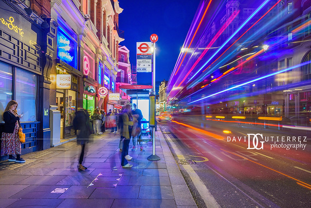 Night Bus - West End, London, UK