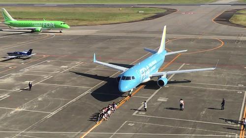 名古屋空港『空の日』フェスタ2018 飛行機と綱引き IMG_3513