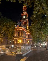 2018-11 November 13 Sydney Night Photography Day 1 Town Hall