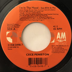 CECE PENISTON:I'M IN THE MOOD(LABEL SIDE-A)