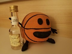 Bally drinking orange liqueur (of course) - Photo of Artolsheim