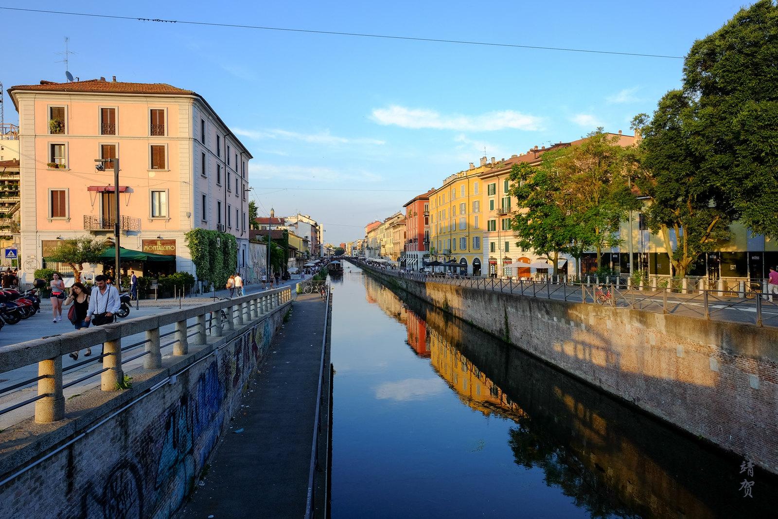 Canals in Navigli