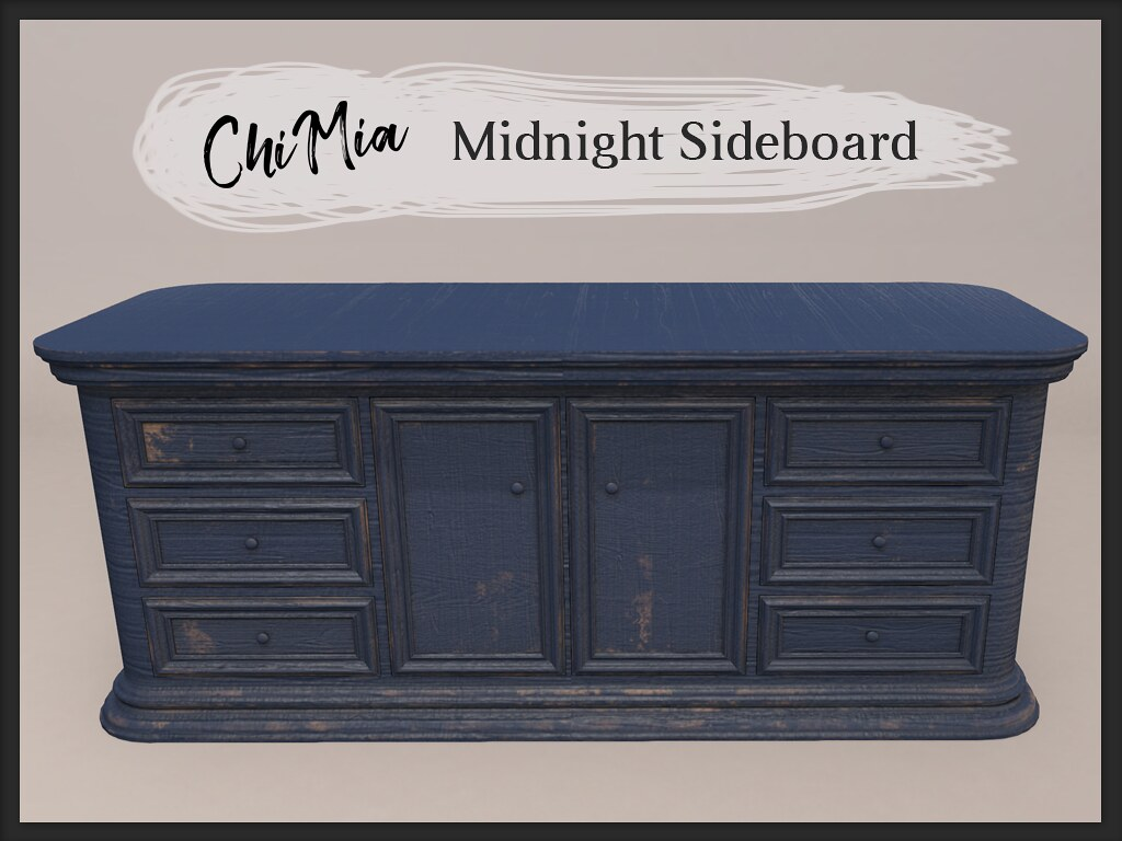Midnight Sideboard by ChiMia - TeleportHub.com Live!