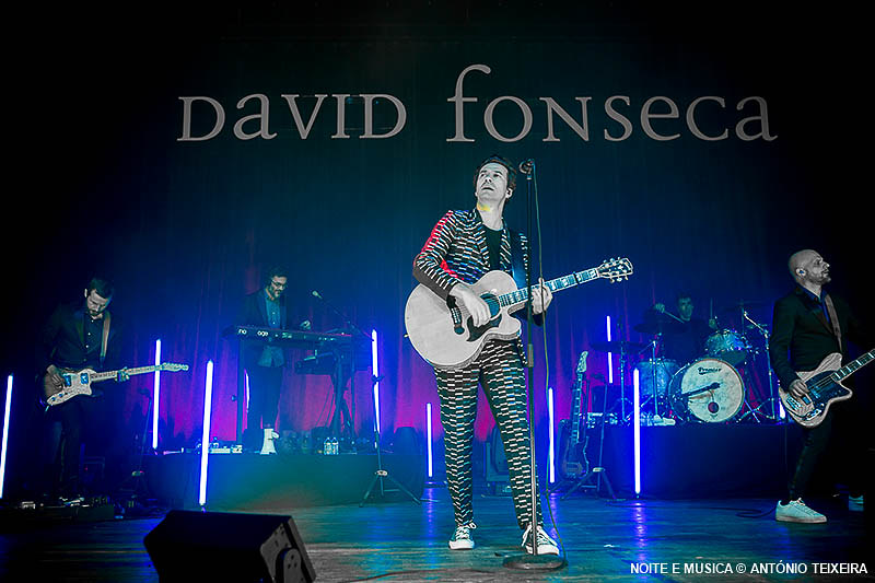 David Fonseca - Coliseu Porto 2018
