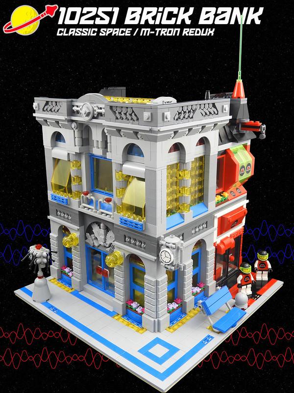 10251 Brick Bank Classic Space / M-Tron Redux