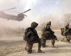 Securing a LZ in Afghanistan