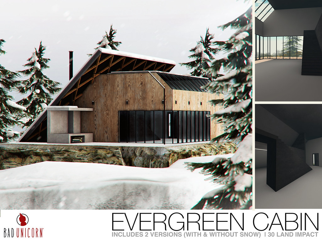 NEW! Evergreen Cabin @ FaMESHed