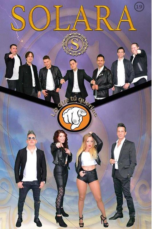 Afiche Orquesta Solara 2019.