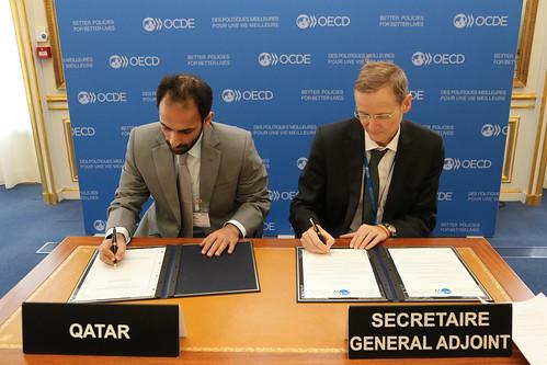 Qatar - MLI signing
