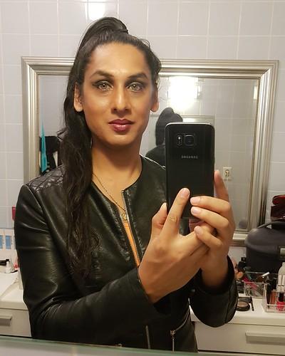 Another after-dance-class selfie