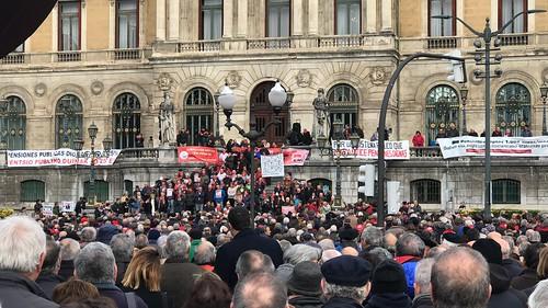 Pensionistas Bilbao todos los lunes durante más de un año