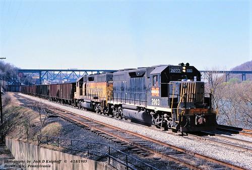 MGA 2003-BO-3805, Brownsville, PA.   4-18-1985