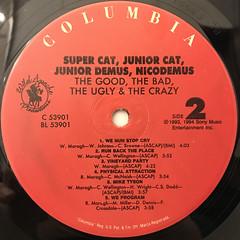 SUPER CAT, NICODEMUS, JUNIOR DEMUS, JUNIOR CAT:THE GOOD, THA BAD, THE UGLY & THE CRAZY(LABEL SIDE-B)