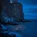 Split Rock Lighthouse Illuminated 20181110-DSC01054 by Rocks and Waters
