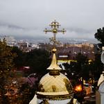 Всенощное бдение в Свято-Вознесенском кафедральном соборе города-курорта Геленджик