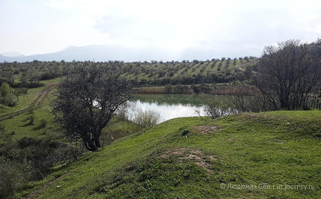 природа Крыма поля и озера