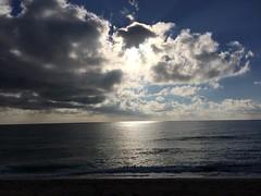 Núvols i el mar